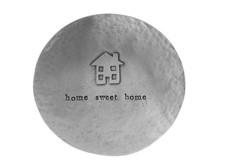 Home Sweet Home pewter trinket dish by Kutuu
