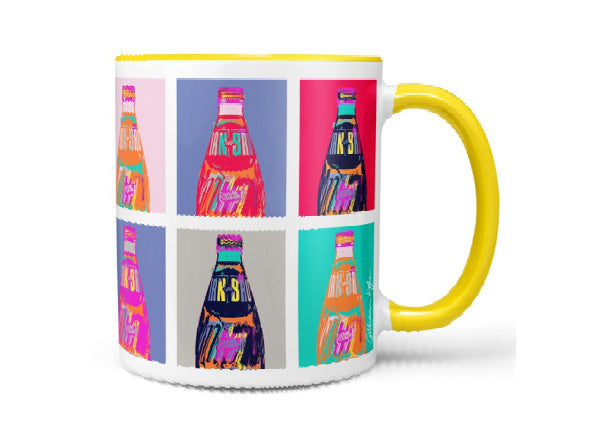 Irn Bru mug by Gillian Kyle