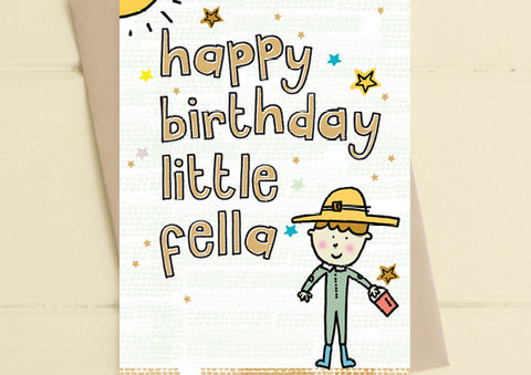 Little Fella - Birthday Card