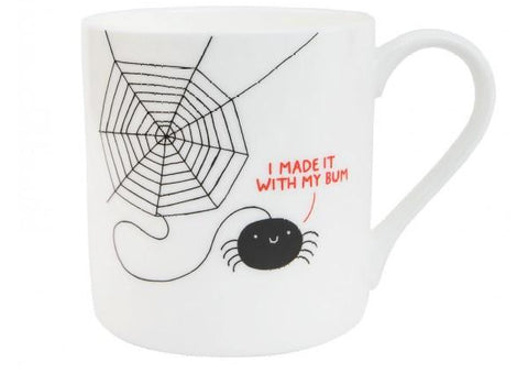 I made it with my bum Mug by Gemma Correll