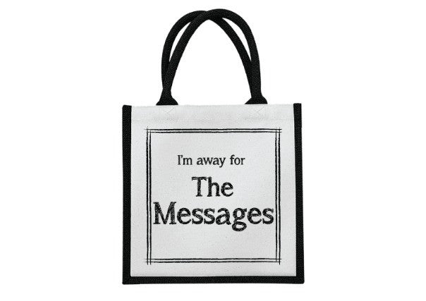 Scottish Messages Bag - quirky coo, gifts, dundee