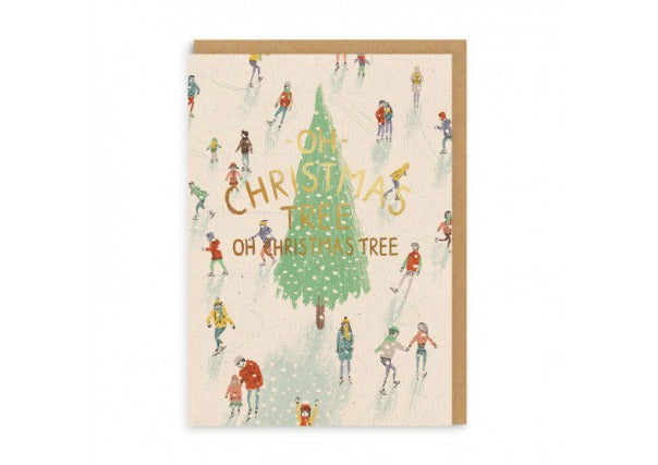 oh christmas tree card - quirky cards and gifts perth dundee
