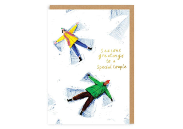 To a special couple - Christmas Card