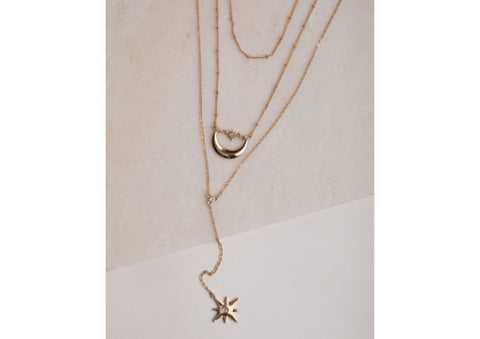 Pisa Necklace by Olia Jewellery