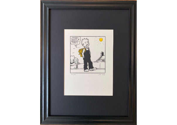 Oor Wullie print jings its a grand day - scottish gifts, dundee, perth, aberdeen