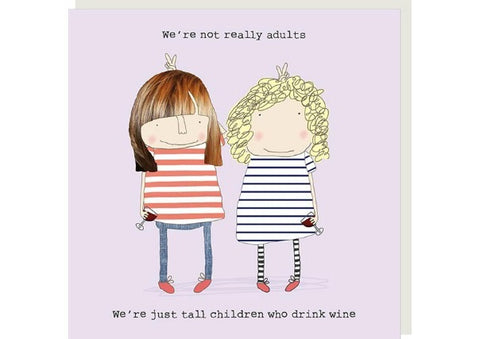 Tall Children - Rosie Made a Thing Greeting Card