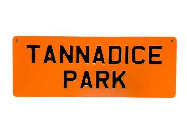 quirky coo tannadice park dundee united football sign - scottish gifts, dundee, perth, aberdeen