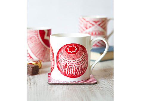 Gillian Kyle Tunnocks Teacake Repeat Mug
