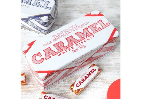 Tunnocks Caramel Wafer Biscuit Tin by Gillian Kyle