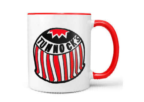Tunnocks Teacake Bold Mug by Gillian Kyle