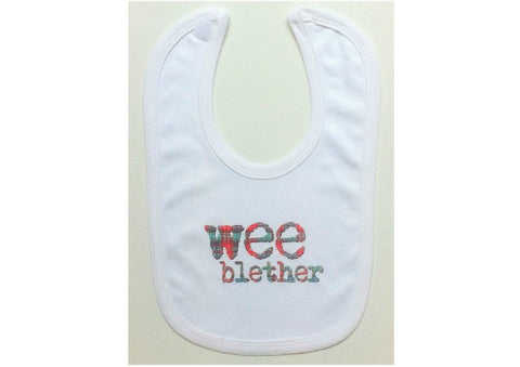 Wee Blether baby bib