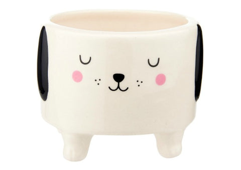 Cute Dog Face Planter