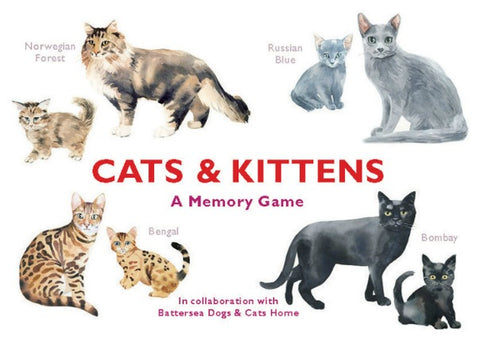 Cats & Kittens - Memory Game