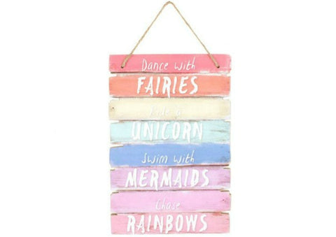 Dance with Fairies,...hanging sign