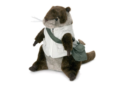 Oscar the Otter Doorstop by Dora Designs