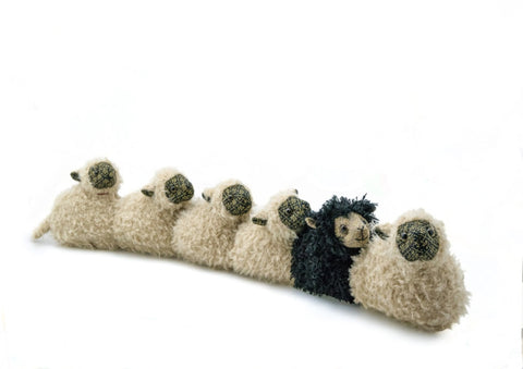 Black Sheep of the family Draught Excluder by Dora Design