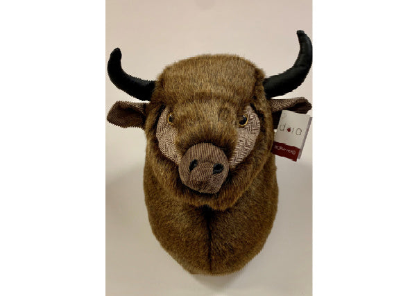 Dora Designs bison trophy head, quirky coo, gifts, dundee, perth, aberdeen