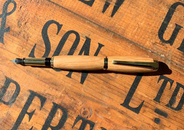 Oak Whisky Cask Fountain Pen