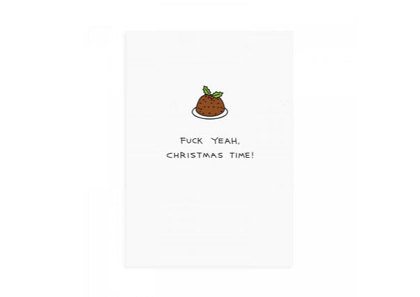 Merry Fucking Christmas card - quirky cards and gifts perth dundee
