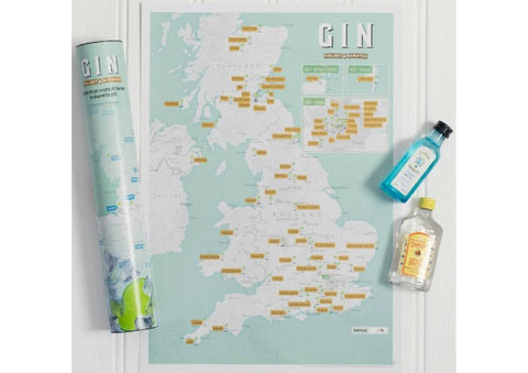 Gin Scratch Map