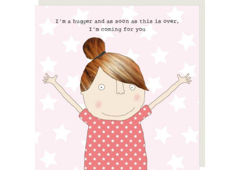 Hugger - Greeting Card by Rosie Made a Thing