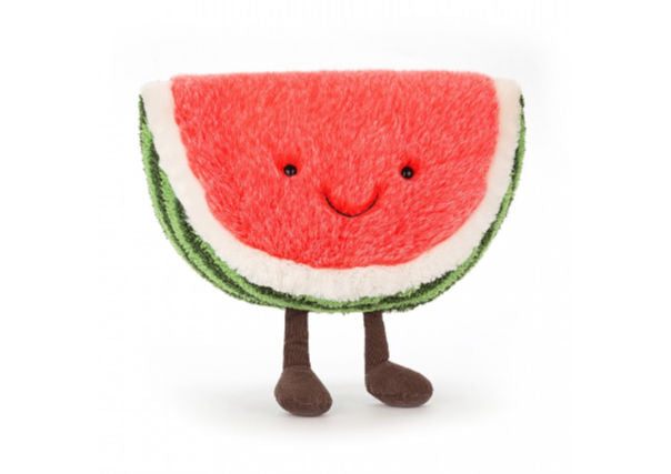jellycat watermelon - quirky coo, gifts, dundee, perth, aberdeen