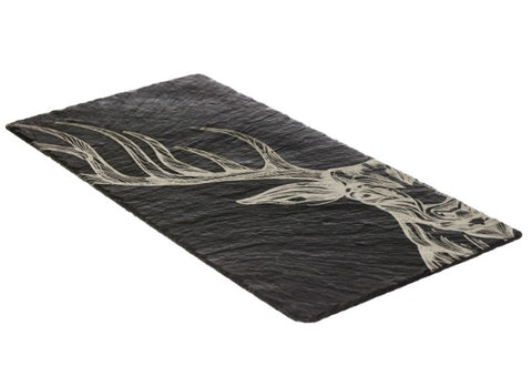 Slate Stag Table Runner by Just Slate Company