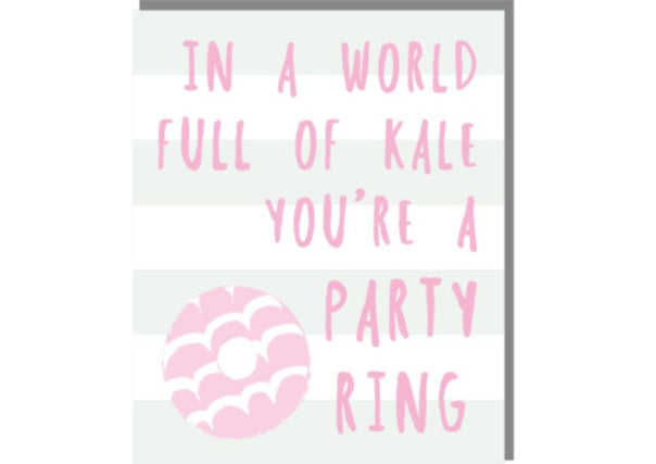 In a world full of kale  - quirky coo, cards, rosiemadeathing, gifts, dundee, scottish, perth