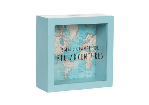Small Change Big Adventures Map - Money Box
