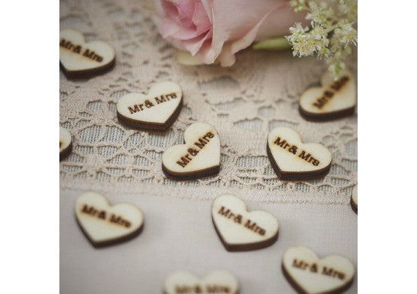 Table confetti - wedding decorations, perth, dundee
