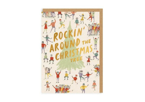 Rocking Around The Christmas Tree - Christmas Card