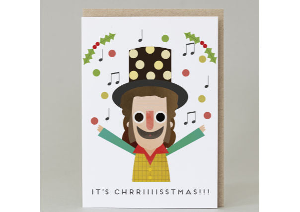 It's Chrriiiisstmas!!! - Slade/Noddy Holder Christmas Card
