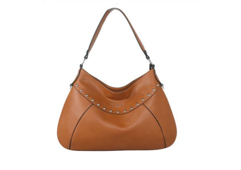 Studded Shopper Shoulder Bag by Red Cuckoo