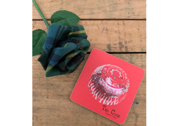 quirky coo scottish gifts - tunnocks teacake coaster