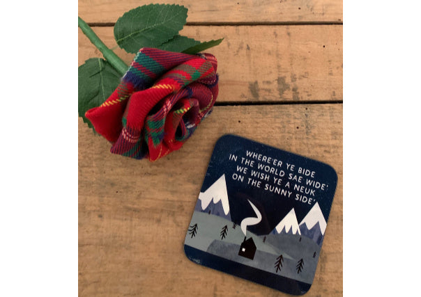 quirky coo scottish gifts - where'r ye bide in the world coaster