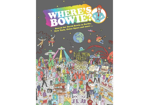 Where's Bowie? Book