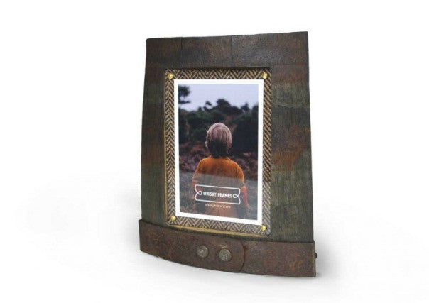 whisky barrel picture frames - scottish quirky gifts, perth dundee