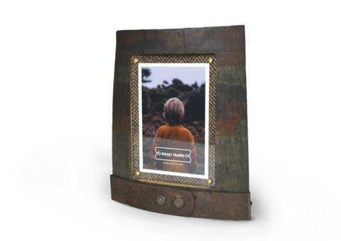 Whisky Barrel Picture Frame