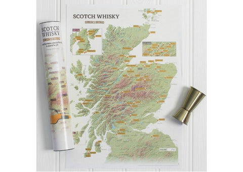 Whisky Scratch Map