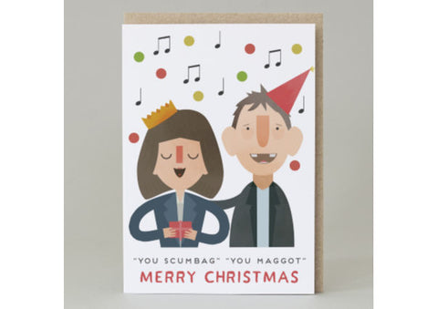 You Scumbag, You Maggot - The Pogues Christmas Card