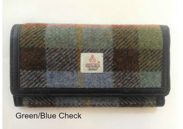 Harris Tweed ladies wallet purse - quirky coo, gifts, dundee