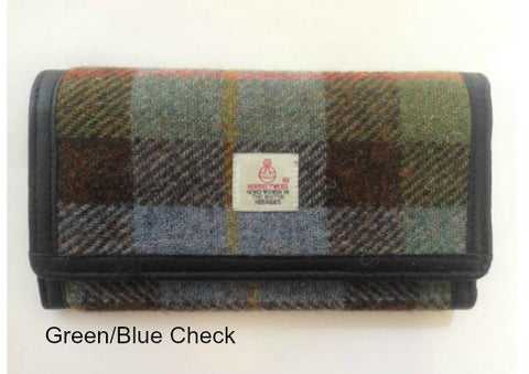 Harris Tweed Long Wallet Purse