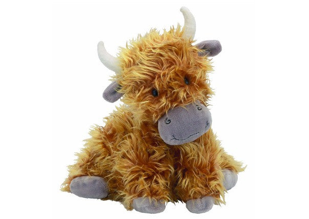 Jelly Cat Highland Cow Soft Toy - Quirky Coo, kids gifts, dundee