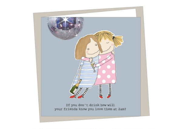 If you don't drink friends birthday card - quirky coo, cards, gifts, dundee, scottish