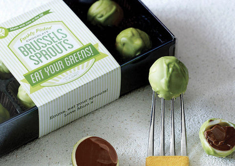 Milk Chocolate Brussels Sprouts