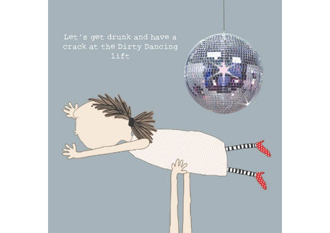 Dirty Dancing Birthday/Any Occasion Card