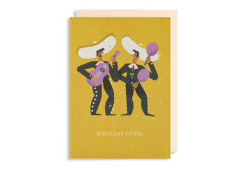 Birthday Fiesta - Greeting Card