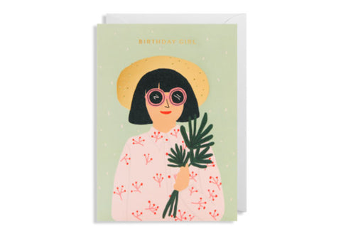 Birthday Girl - Greeting Card