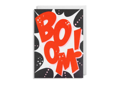 Boom - Greeting Card