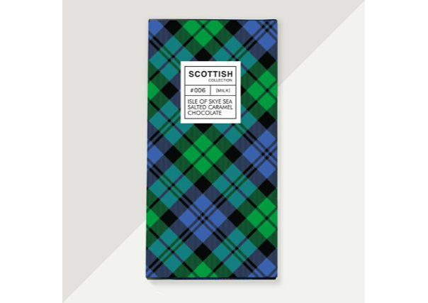 isle of skye sea salted caramel chocolate - scottish gifts, dundee, perth, aberdeen